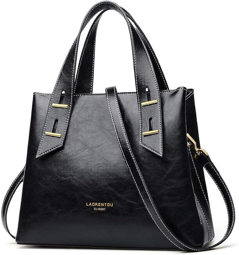 LAORENTOU Cow Leather Purses Brand Cheap Sale Venue and Ba Seattle Mall for Women Handbags Crossbody