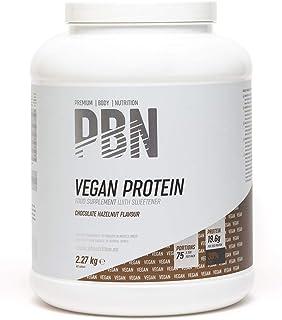 PBN Barattolo di Proteine per Vegani, 2.27 kg, Gusto Nocciola e Cioccolato