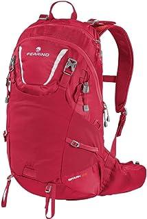 ZAINO Rosso Spark 23 Trekking MONTAGNA