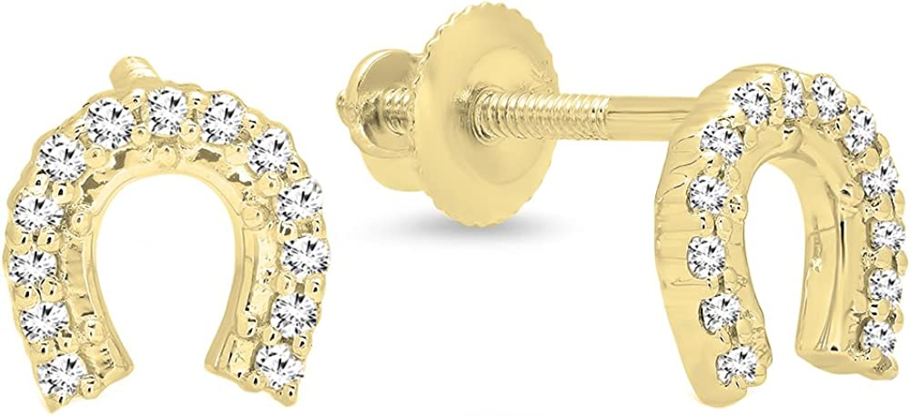 Dazzlingrock Collection 0.13 Max 84% OFF Carat ctw White 14K Online limited product Di Round Gold
