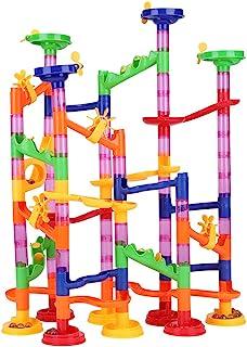 Marble Run Building Blocks Construction Creative DIY Run Maze Balls Track Blocks Educational Toys for Children Kids