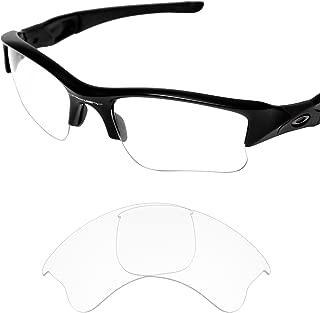 Tintart Performance Lenses Compatible with Oakley Flak Jacket XLJ - UV400 Clear