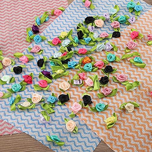 Simulação de Flor, Flor Artificial DIY, Flor Artificial, Acessório DIY Decoração de Casamento para Festa de Banquetes Familiares(Simulation flannel rose flower, 100)