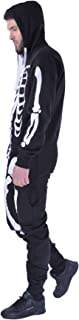 Unisex Mens Aztec Army Print Onesie Zip Up All in One Hooded Jumpsuit S-XL