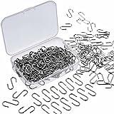 WILLBOND 150 Stück Mini S Haken Connectors Metall S Draht Haken Kleiderbügel mit Aufbewahrungsbox...