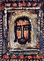 ルオー・「聖顔」 プリキャンバス複製画・ ギャラリーラップ仕上げ(6号サイズ)
