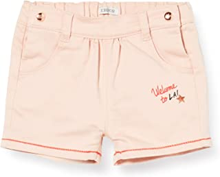 IKKS Junior Short Welcome to, Rose (Rose poudré 32), 18-24 Mois (Taille Fabricant:18M) Bébé Fille