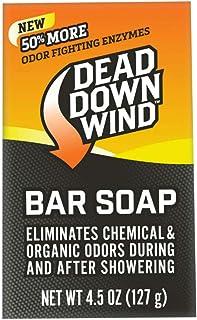 Dead Down Wind Bar Soap | 4.5 Oz Bar | Odor Eliminator,...