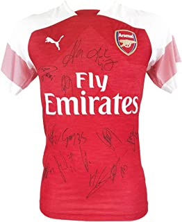 Signed Arsenal Shirt - Fully Autographed Jersey