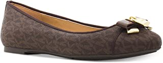 Michael Kors Womens Alice Ballet Pointed Toe Casual Slide, Brown, Size 10.0