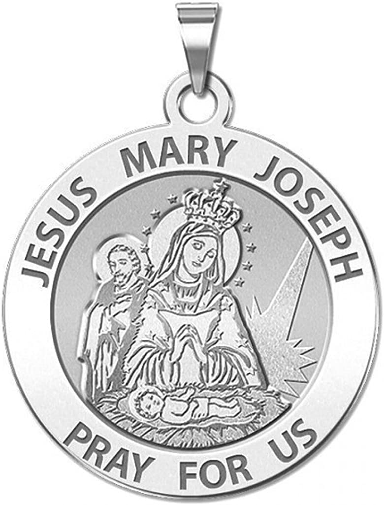 PicturesOnGold.com Jesus Max 77% OFF Sales results No. 1 Mary Joseph Medal Religious Traditiona