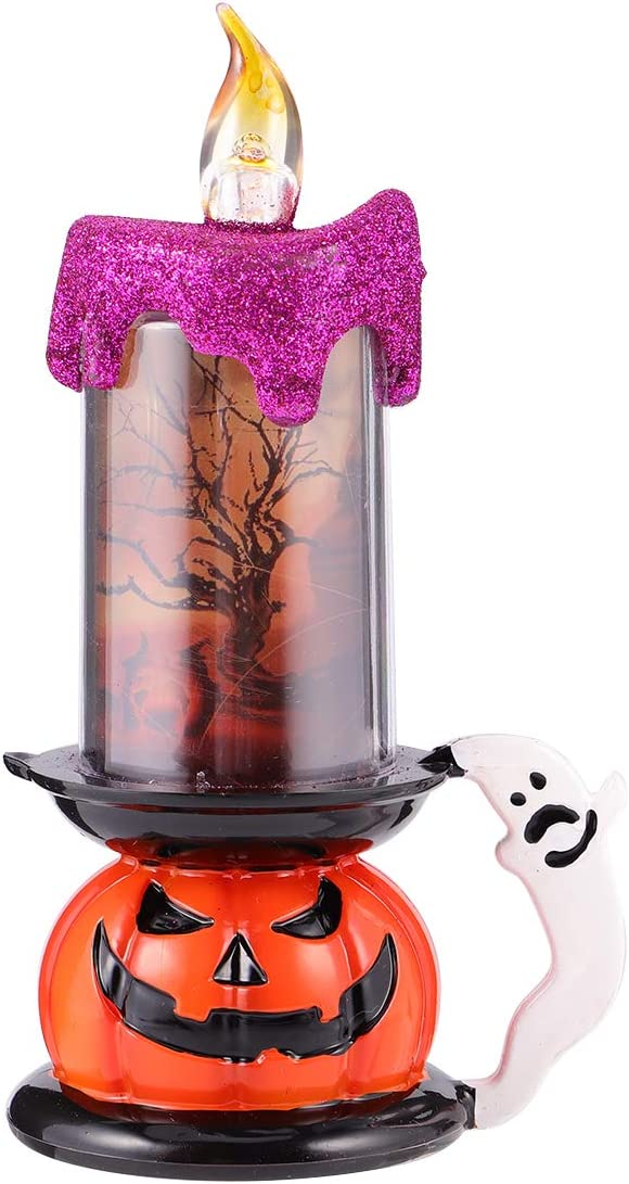 PartyKindom Halloween trend rank Year-end gift Candle Lamp Glowing Party Props LED