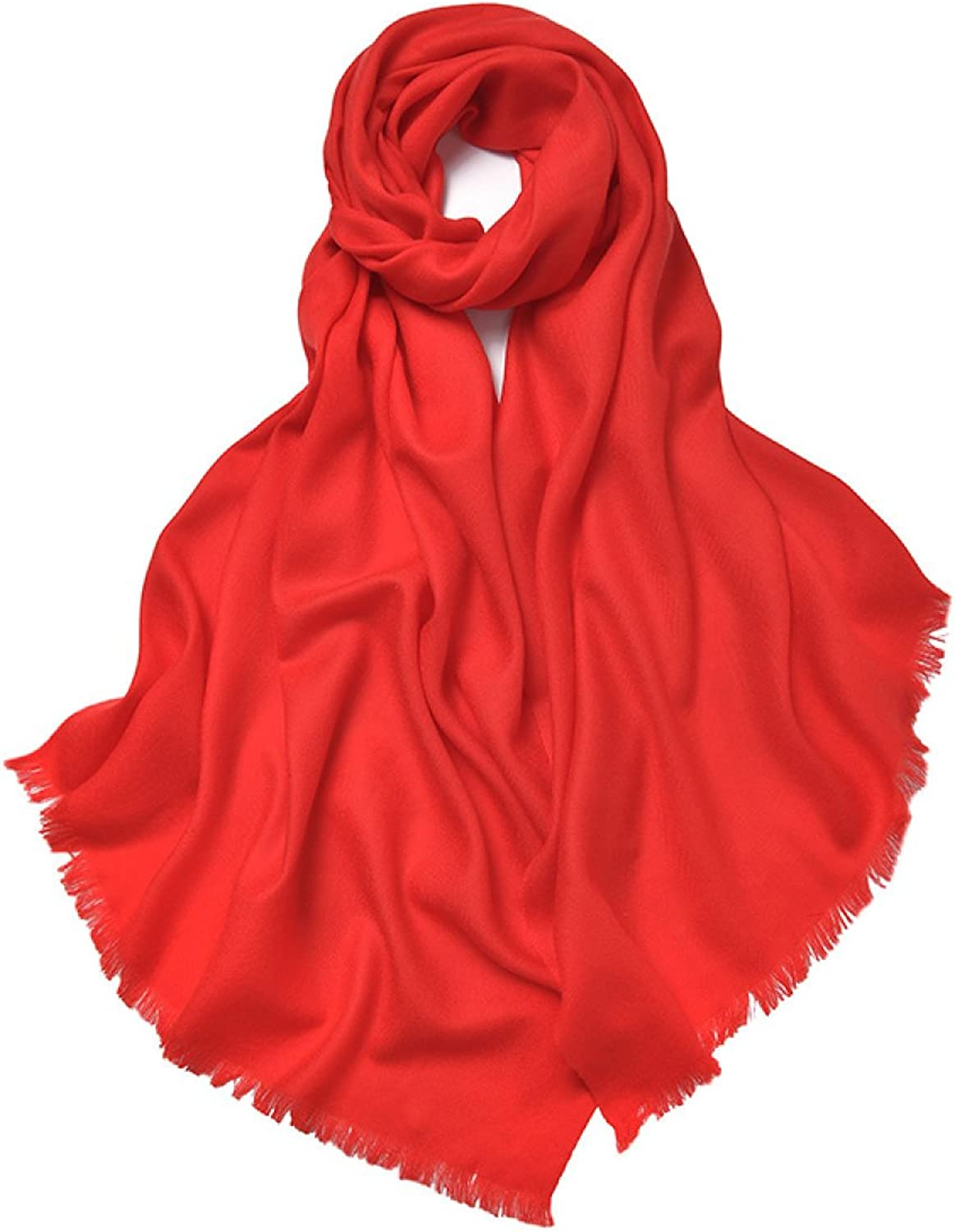 2017 Women's Autumn And Winter Long Solid color Scarf Shawl Dual The New,7OneSize