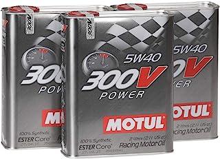 Motul Motor Oil Turnier 104242 300V Power 5W 40, Pack 6 Liter (Metallic)