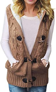 Women's Warm Fleece Zipper with Pockets Sleeveless Outerwear Vest