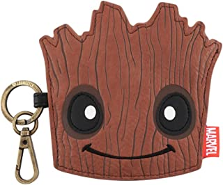 Loungefly Wallets and Purses Loungefly x Marvel Groot Coin Purse Brown