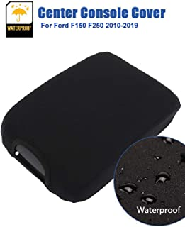 ISSYAUTO F150 Center Console Cover F250 F350 Console Lid Armrest Cover Replacement with Latch Opening