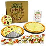 Pint-Size Scholars Sight Words Pizza Board Game   120 Vocabulary Words for Reading & Spelling Readiness (Dolch & Fry)   Educational Learning Board Games for Kids   Teaching Tool for Parents & Teachers