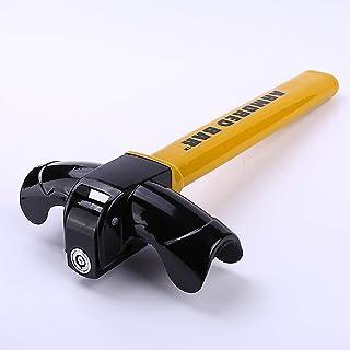 $50 » TERMALY Steering Wheel Lock,Universal Security Anti Theft Heavy Duty Car Security Travel Locking Gear with 2Keys Universal...