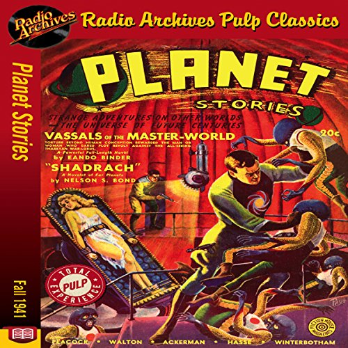 Planet Stories - Fall 1941 audiobook cover art