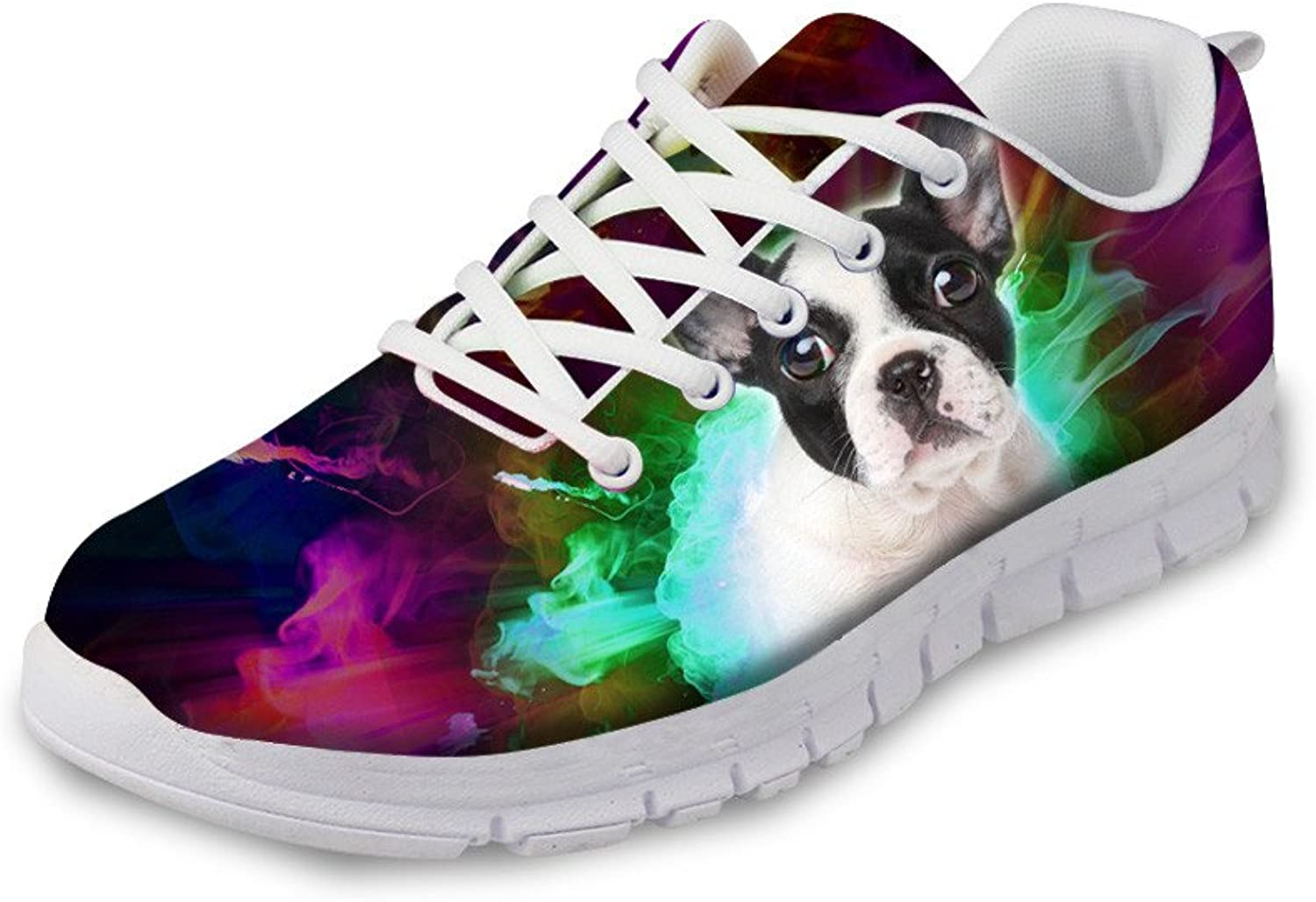 Chaqlin Fashion Animal Print Runnning shoes Breathable Men & Women Breathable Mesh Sneakers