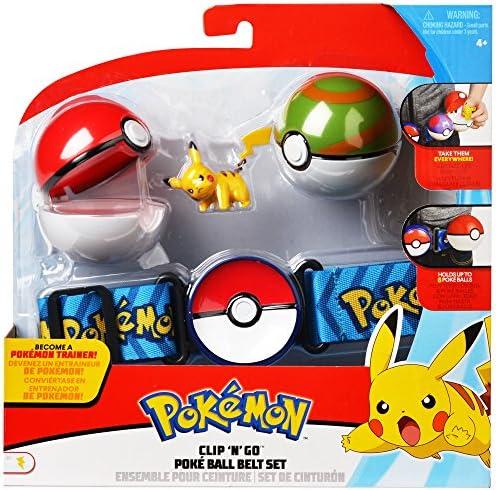 Pokemon Clip N Go Poke Ball Belt Trainer  Charmander Salamèche Glumanda Figure