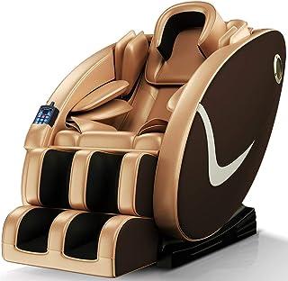 雄鼎 按摩椅 家用按摩沙发 太空舱多功能智能沙发椅 零重力 8D全身气囊推拿按摩椅Y7 (金色)
