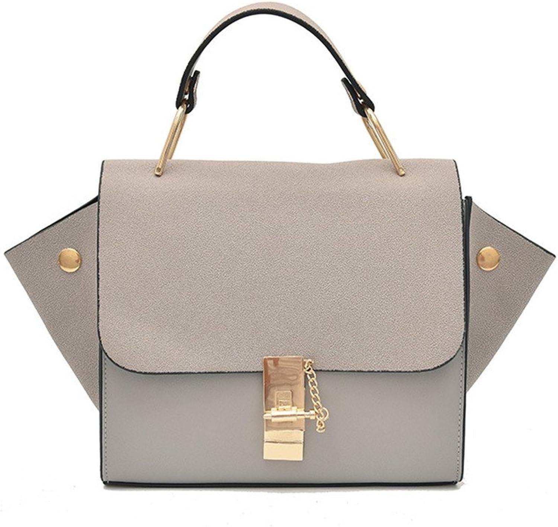 16012df1bcfe1 Meaeo Mode Handtaschen Vielseitig Einzelne Schulter Schulter Schulter  Diagonale Tasche Grau B07FBR5G9G Neu 33f830