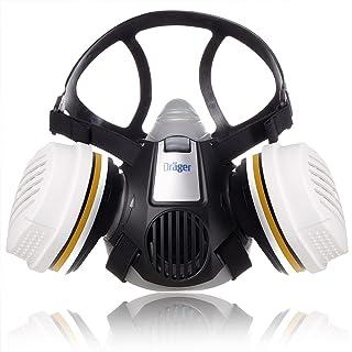 Dräger X-plore® 3300 Schilderset/Tuinbouwset halfgelaatsmasker met twee herbruikbare A2 P3 filters voor verfspuiten en wer...