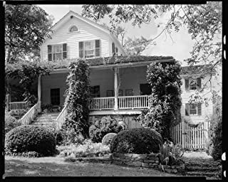 HistoricalFindings Photo: Sherrill Inn,porches,Hickory Nut Gap,NC,North Carolina,Architecture,South,1938 5