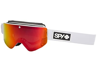 Spy Optic Marauder (Matte White/Bronze/Red/Yellow/Green Spectra Mirror) Goggles