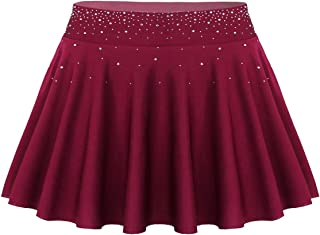 CHICTRY Frauen Mode Tanzrock Ballett Rock Eiskunstlauf Rock Latin Salsa Tango Dance Rock Tennisrock Skirt Gymnastik Sport Skort