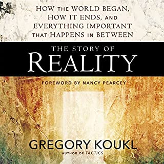 The Story of Reality audiobook cover art