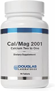 Douglas Laboratories - Cal/Mag 2001 (Calcium Two to One) - with Magnesium and Other Nutrients to Support Healthy Bone Structure* - 90 Tablets