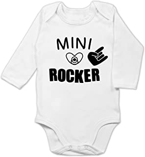 Shirtracer Strampler Motive - Mini Rocker - Baby Body Langarm
