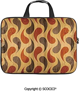 SCOCICI Laptop Bag for 15.6 inch Laptop and Netbook Abstract Tadpole