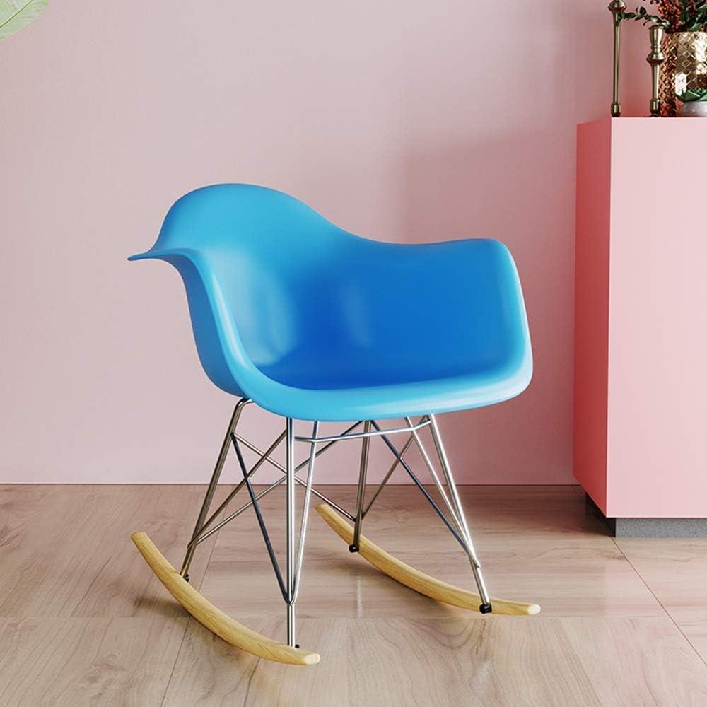 Chaise à Bascule Chaise Longue à Bascule Confortable Relax Chaise à Bascule pour Salon arrière-Cour ou Balcon Chaise de détente Yellow