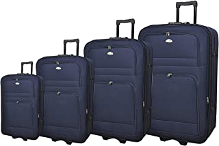 New Travel Luggage Trolly Br1001-4p Navy