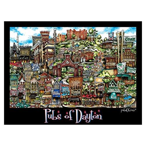 dayton flyers poster - 2