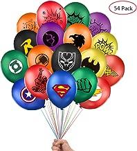 Best superhero theme party decorations Reviews