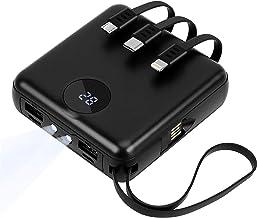 Power Bank,Sethruki 10000mAh Portable Charger with Built...