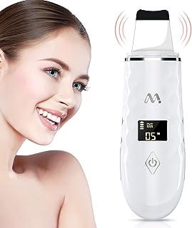 Skin Scrubber, Misiki Peeling Ultrasónico Facial Skin Scrubber Exfoliación Facial Ultrasónica Limpiador de Poros para Limpieza Facial y Cuidado Facial