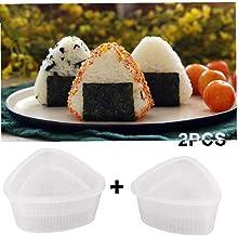 Light Green Cabilock Triangle Sushi Rice Ball Mold Press Maker Bento Case Box Shaper Bento Accessories DIY Tool