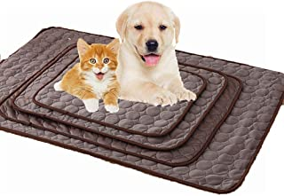 Pet Cooling Mat,Heat Relief Mat Dog Cooling Pad Ice Silk Material Soft and Ease Cat Cool Mat Summer Sleeping Bed Keep Cool for Small Medium and Large Dogs