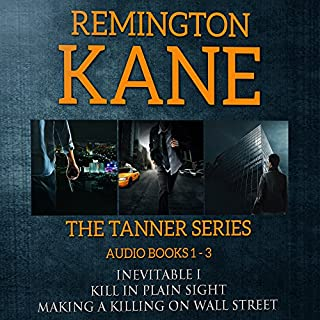 The TANNER Series, Book 1-3 cover art