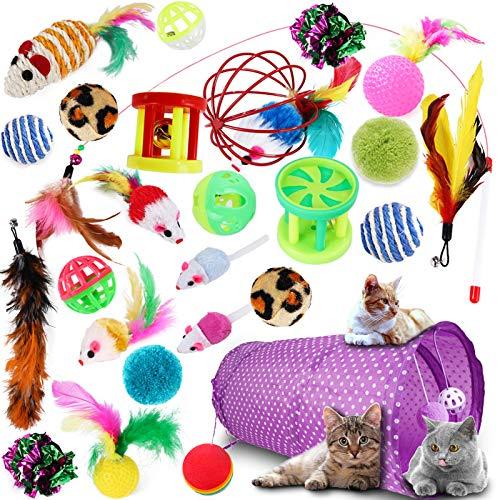 Set de Juguetes para Gatos (27 Piezas)