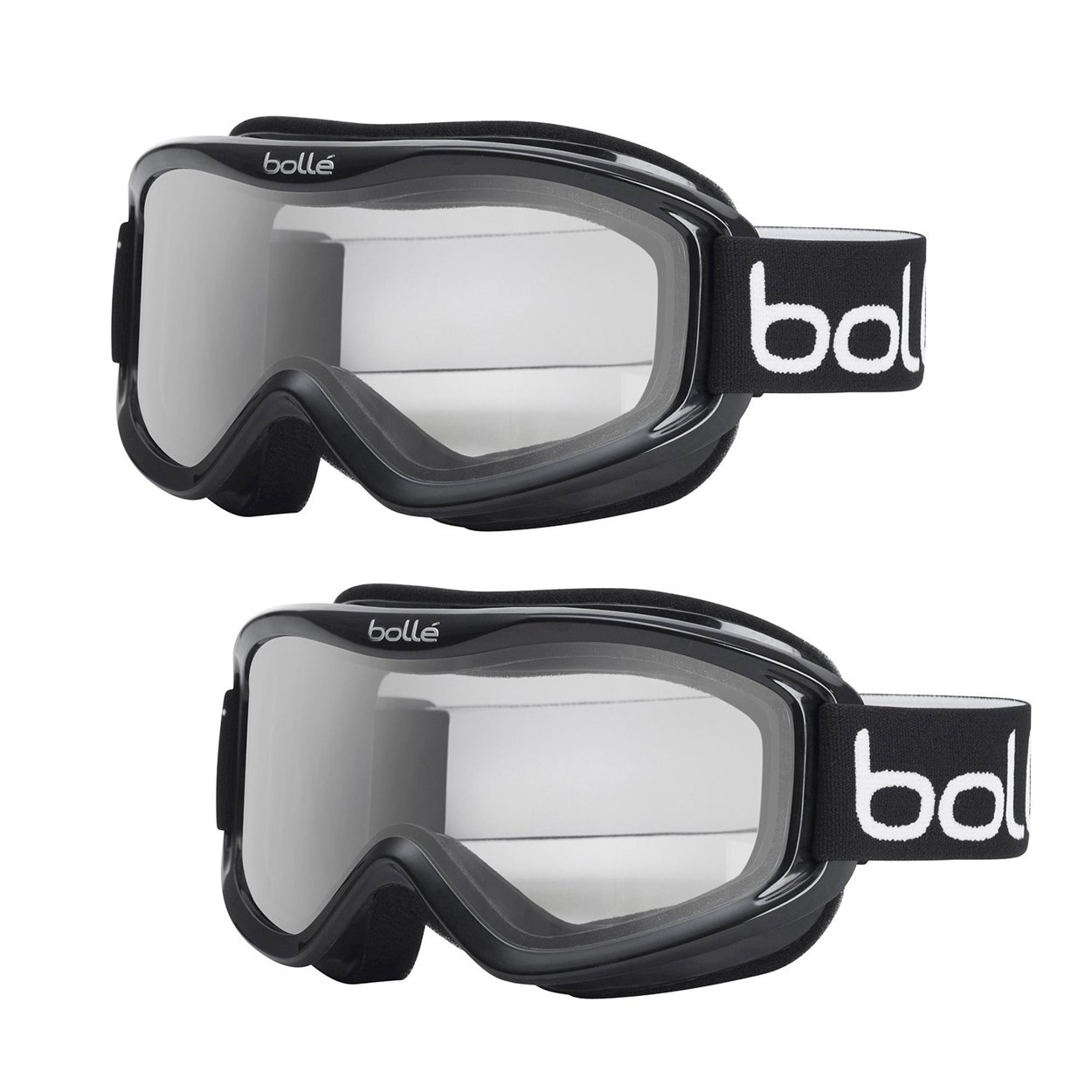 Bolle Anti Fog Goggles Medium 2 Pack