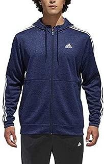 Men's Tech Full Zip Fleece Hoodie Performance Hooded Track Jacket