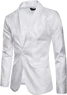 Amazon.es: Blanco - Chaquetas de traje y americanas / Trajes ...