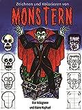 Zeichnen und Malen von Monstern (German Edition)